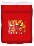 Summer In The City Duvet Cover