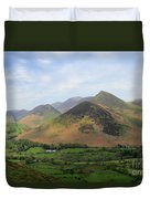 Summer, The Newlands Valley, Lake District National Park Duvet Cover