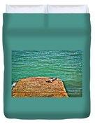 Sun Bathing Duvet Cover