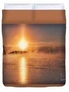 Sun Pillar Duvet Cover