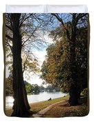 Sunbury On Thames Surrey Uk Duvet Cover