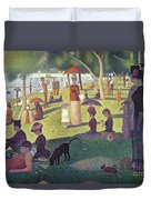Sunday Afternoon On The Island Of La Grande Jatte Duvet Cover by Georges Pierre Seurat