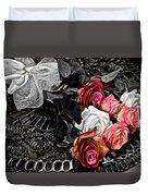 Sundial Bouquet Duvet Cover