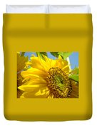 Sunflowers Art Prints Sun Flower Giclee Prints Baslee Troutman Duvet Cover