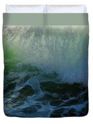 Sunlight And Surf Duvet Cover