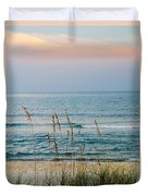 Sunrise And Sand Duvet Cover