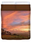 Sunrise At Tagaytay Highland Duvet Cover