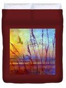 Sunrise Flight Duvet Cover