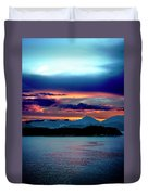 Sunrise Over Uruguay Duvet Cover