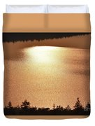 Sun's Reflection Duvet Cover