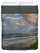 Sunset At Kapaa - Kauai Duvet Cover