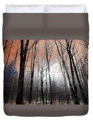 Sunset In The Mountains Duvet Cover