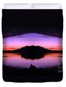 Sunset Kiss Duvet Cover