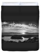Sunset On The Niangua Duvet Cover