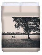 Sunset @park Duvet Cover