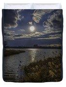 Sunset,lake Duvet Cover