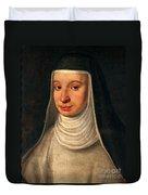 Suor Maria Celeste, Galileos Daughter Duvet Cover