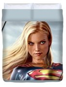 Supergirl Collection Duvet Cover
