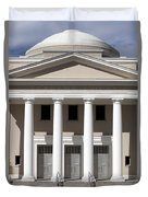 Supreme Courthouse In Tallahassee Florida Duvet Cover