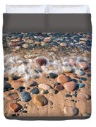 Surf And Stones Duvet Cover