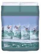 Surfing Sequence Duvet Cover