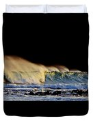Surfing The Island #2 Duvet Cover