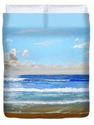 Surfside Morning Duvet Cover