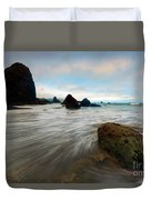 Surrounded By The Tides Duvet Cover