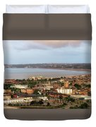 Swansea Bay South Wales Duvet Cover
