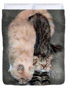 Sweet Couple Duvet Cover
