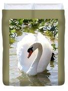 Sweet Swan 2 Duvet Cover