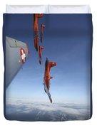 Swiss Air Force Display Team, Pc-7 Duvet Cover
