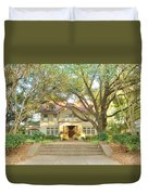 Swiss Avenue Historic Mansion Dallas Texas Duvet Cover