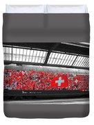Swiss Train To Zurich Duvet Cover