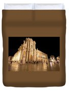 Syracuse, Sicily, Italy - Ortigia Downtown In Syracuse By Duvet Cover