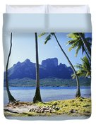 Tahiti, Bora Bora Duvet Cover