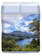 Tamblingan Lake - Bali Duvet Cover
