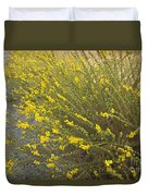 Tarweed Flowering Duvet Cover