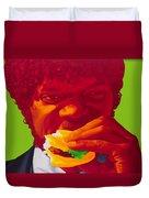 Tasty Burger Duvet Cover