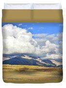Telluride Skyline From Wilson Mesa Duvet Cover