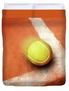 Tennis Point Duvet Cover