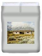 Teton Ranch Duvet Cover