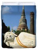 Thailand, Ayathaya Duvet Cover