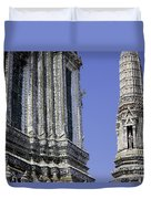 Thailand Temple Architecture Duvet Cover