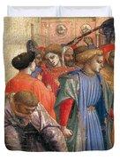 The Annunciation Duvet Cover