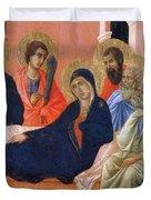 The Apostles Of Maria Fragment 1311  Duvet Cover