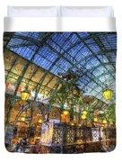 The Apple Market Covent Garden London Art Duvet Cover
