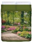 The Azalea Path Duvet Cover