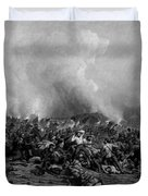 The Battle Of Gettysburg Duvet Cover by War Is Hell Store