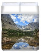 The Beautiful The Louch Lake With Reflection And Clear Water Duvet Cover